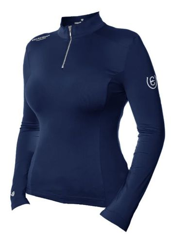 ES UV Protection Top Midnight Blue